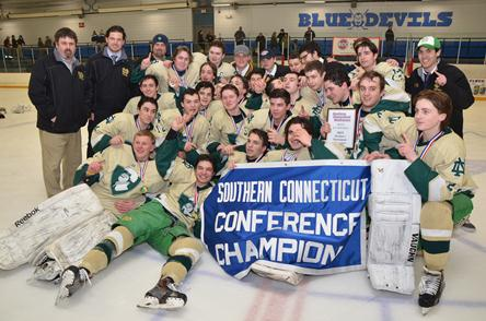 ND D1 Hockey champs 2015